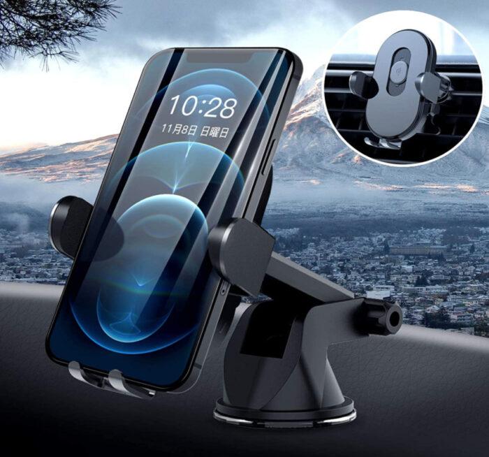 iPhone12用の車載ワイヤレス充電器おすすめ3選!パット型・スタンド(ホルダー)型 / 快適・便利でおしゃれに